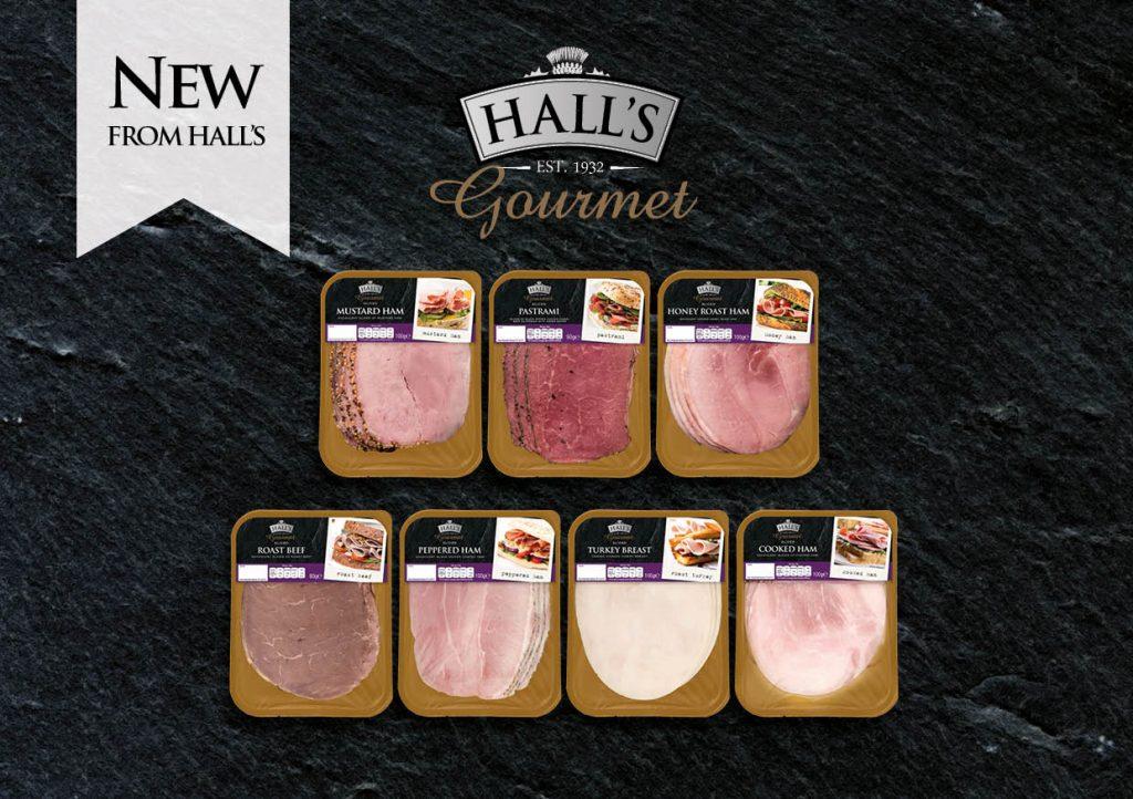 Hall's gourmet range